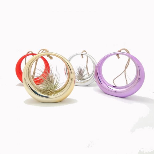 "4.3"" Hanging Rings With 4 Metailic Colors Assorted"