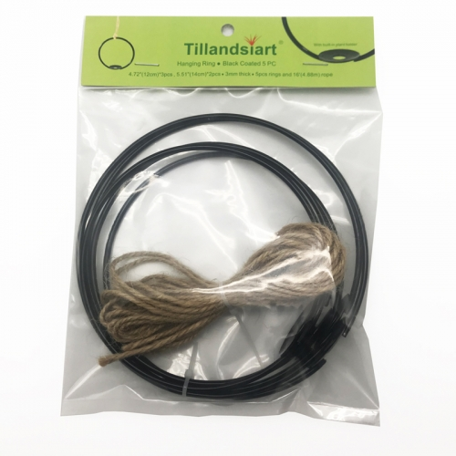 Tillandsiart Air Plant Hanging Rings - 5Pcs DIY Kit